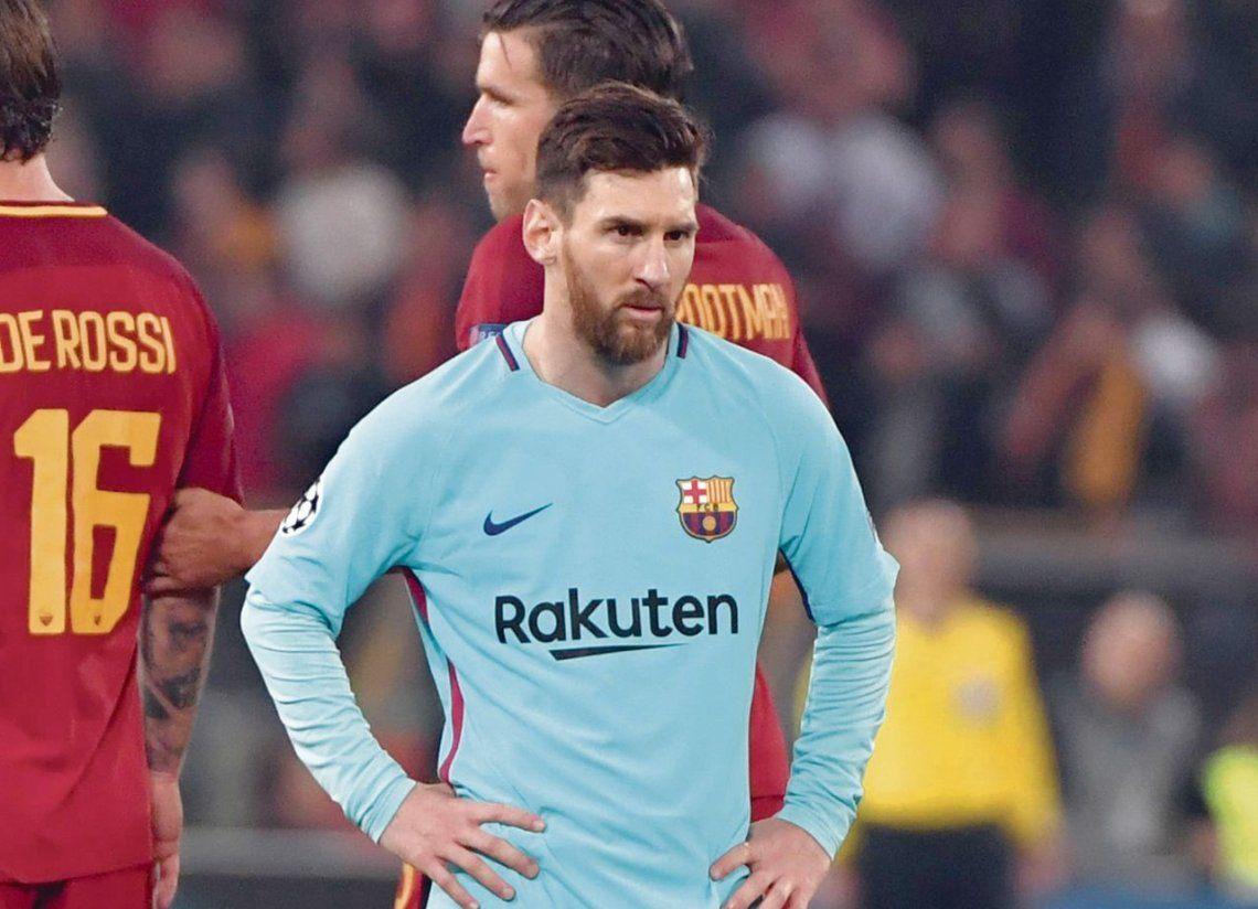 """Messi se agarró """"feo"""" con su entrenador"""