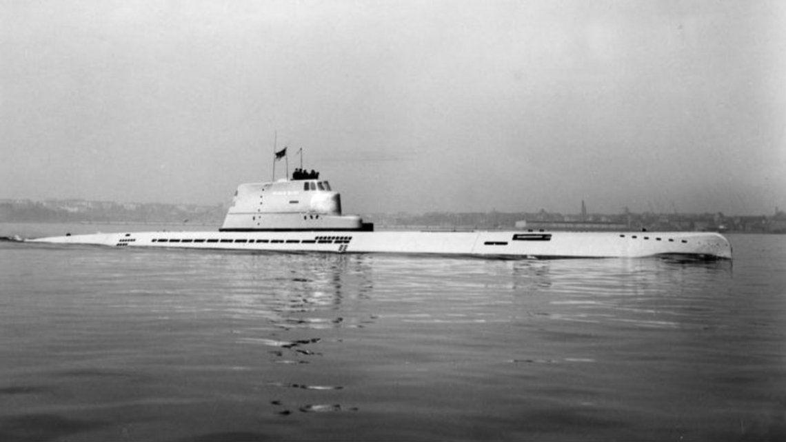 Encuentran restos de un excéntrico submarino nazi
