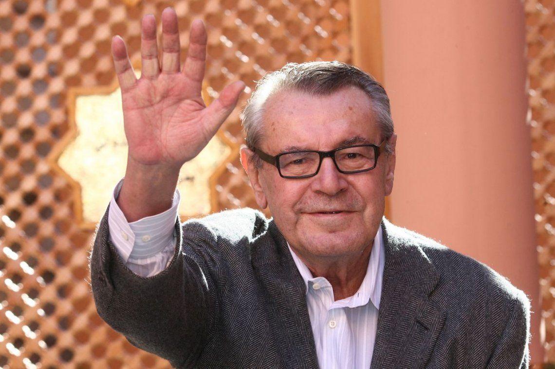 Murió Milos Forman, el genial director de Amadeus y Atrapado Sin Salida
