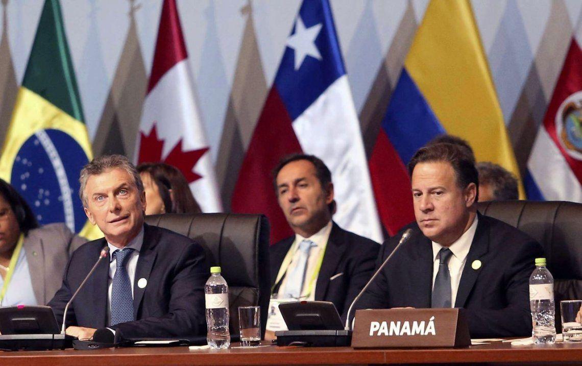 Qué dijo Macri durante su exposición en la Cumbre de las Américas