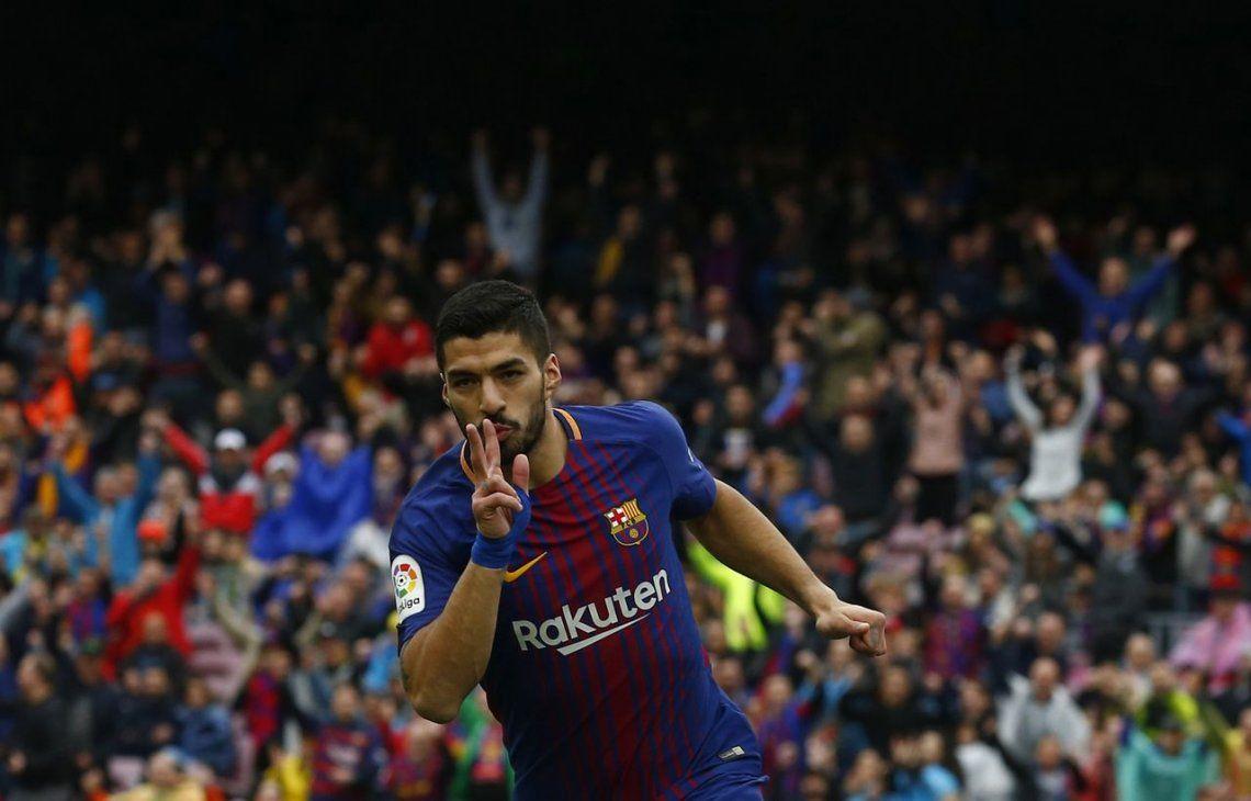 Tras su dura eliminación de la Champions, Barcelona le ganó a Valencia