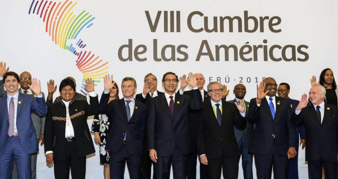 Cumbre de las Américas: presidentes se comprometen a combatir la corrupción