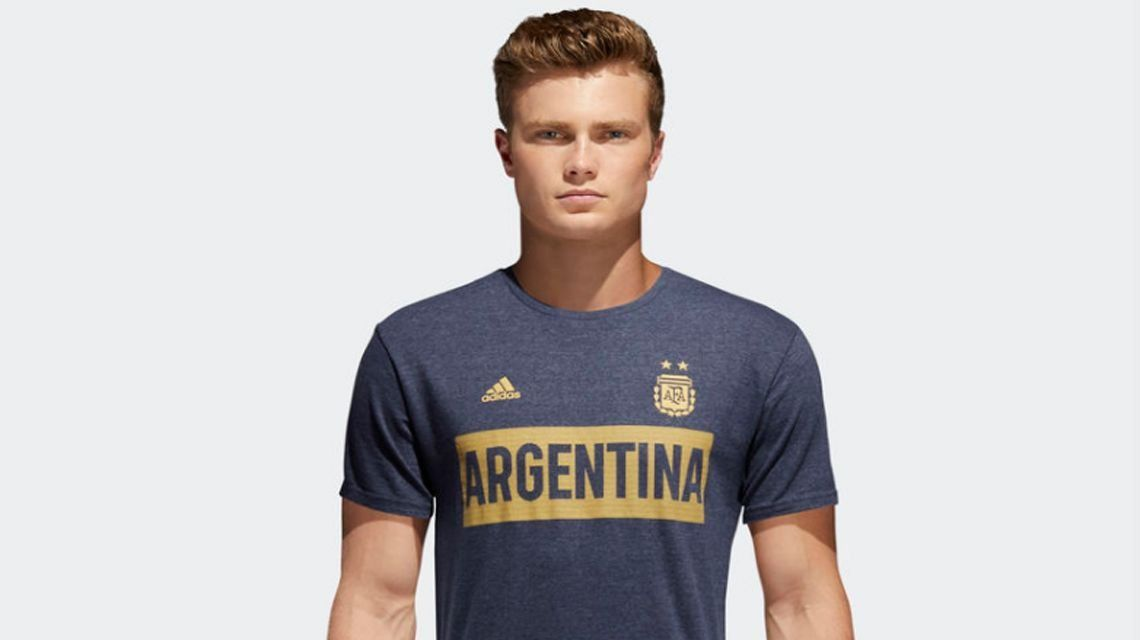 ¿Es la nueva camiseta de la Selección o la de Boca?