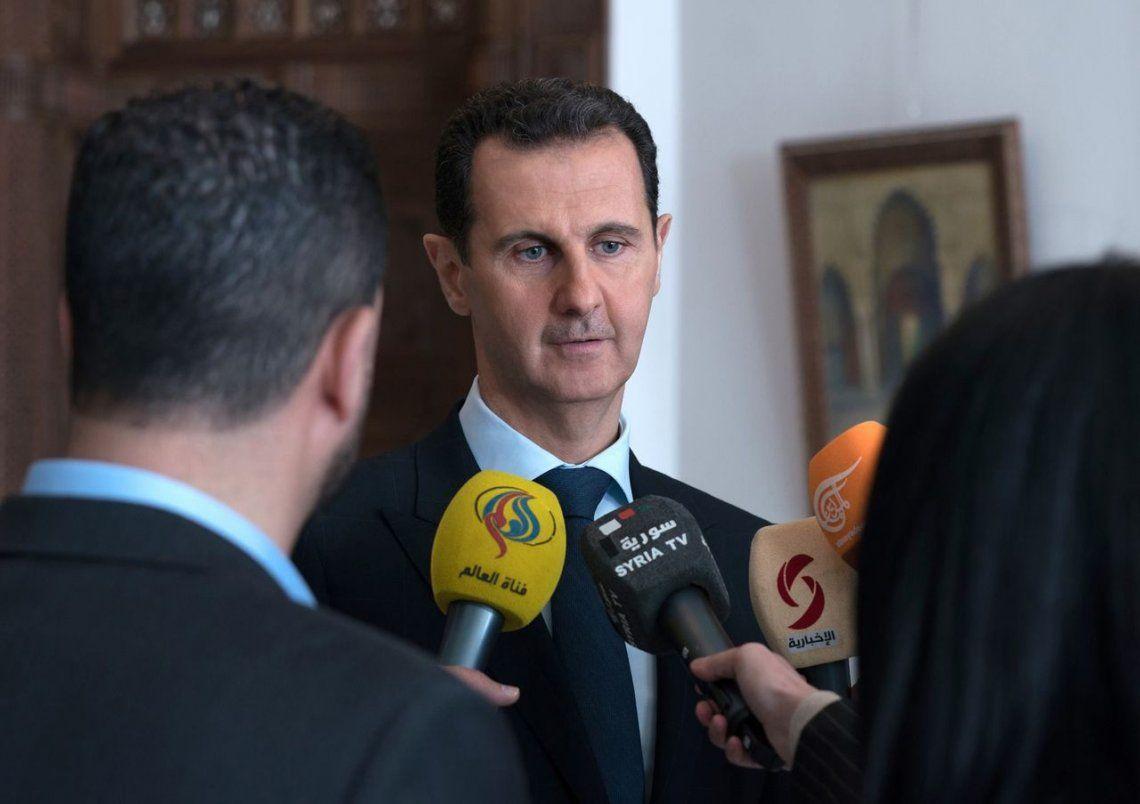 Qué dijo Bashar al Assaddespués de los bombardeos de Estados Unidos