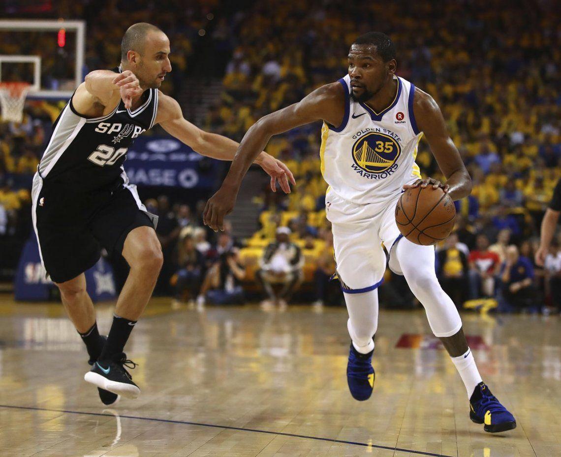Los Spurs de Manu cayeron en el primer duelo de la serie ante Golden State: ¿cuándo se juega el segundo y dónde?