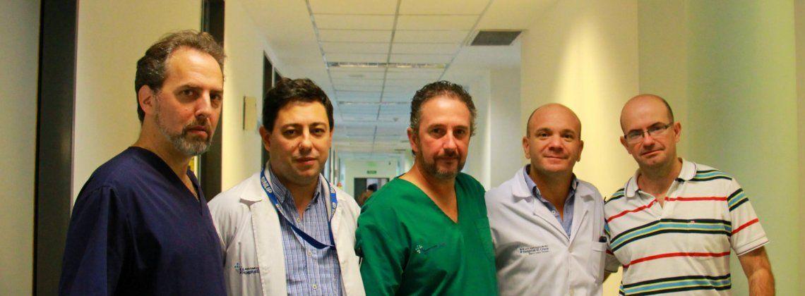 Salvaron la vida de un hombre que sufrió un ACV
