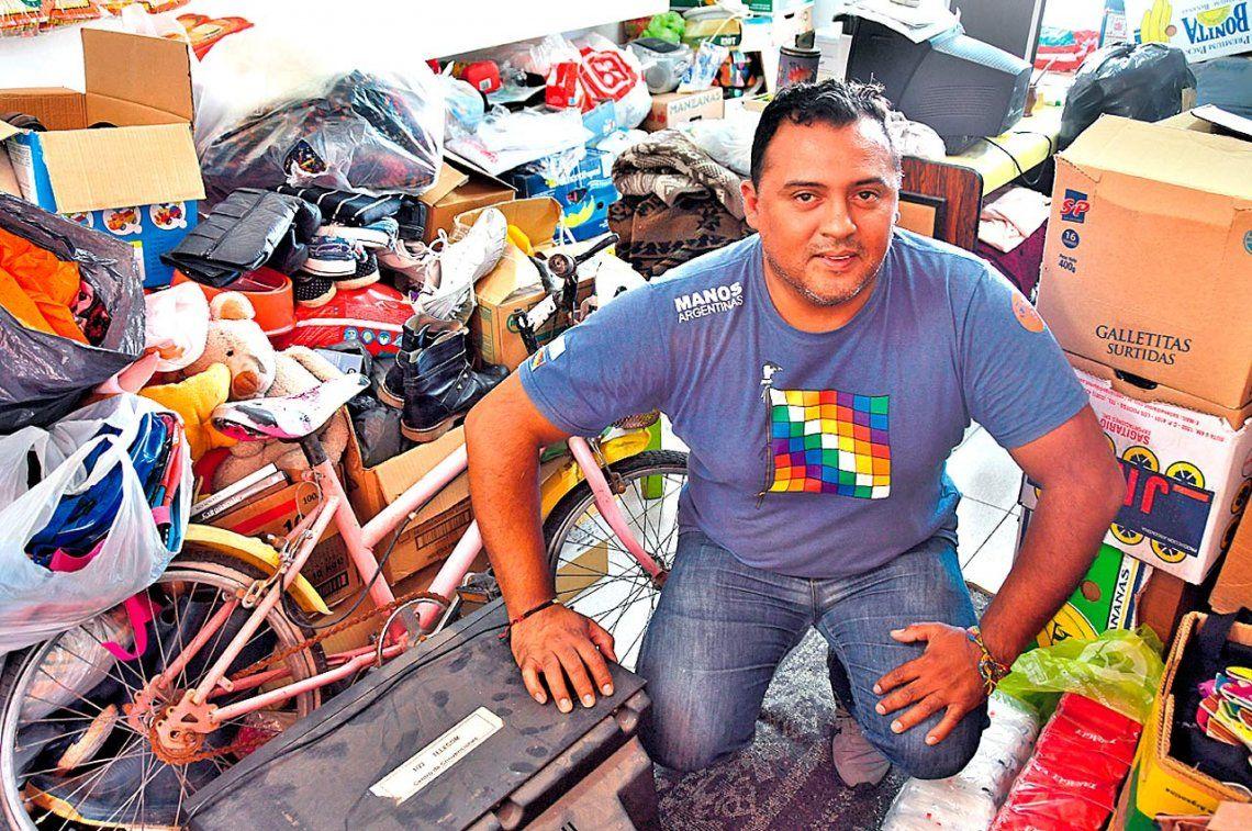 Ángel, el peregrino cuya solidaridad llega al Chaco