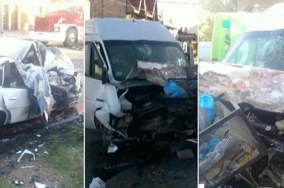 Trágico choque en Lanús: dos mujeres muertas y tres heridos graves