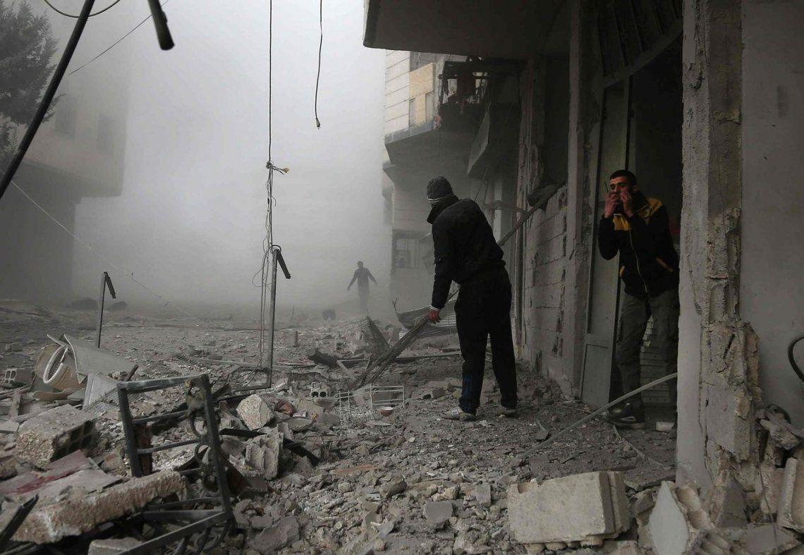 El rol que ocupa cada país en el conflicto con Siria
