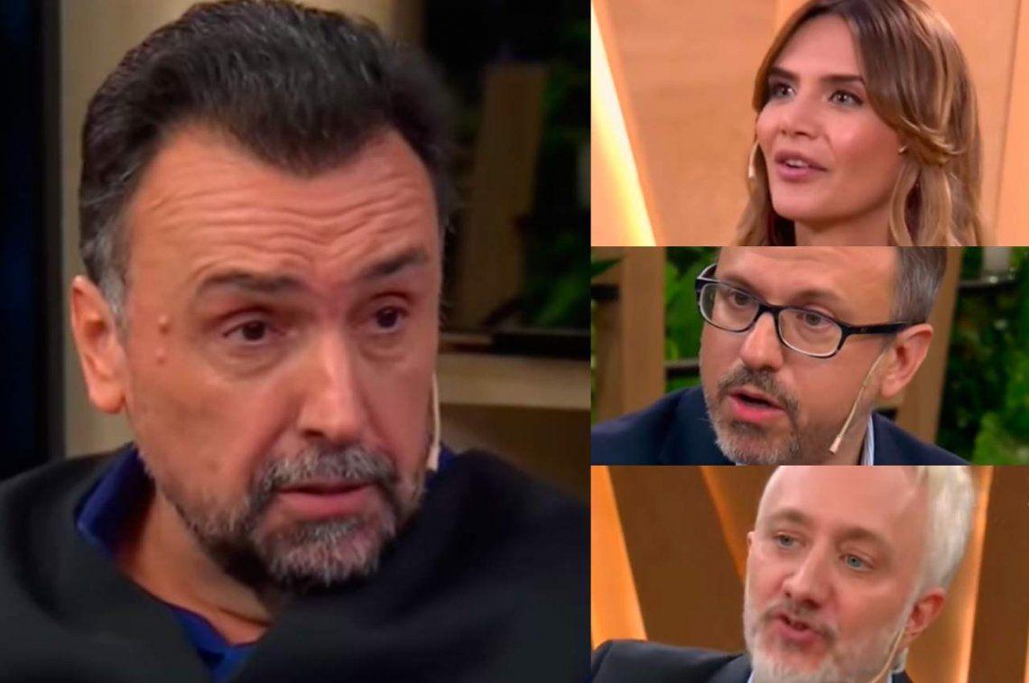 Tremendo cruce de Roberto Navarro con Amalia Granata, Diego Valenzuela y... ¡Andy Kusnetzoff!