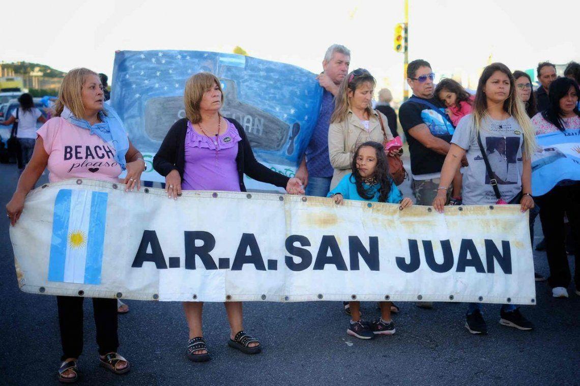 Proyecto de ley para resarcimiento económico a familiares de tripulantes del ARA San Juan
