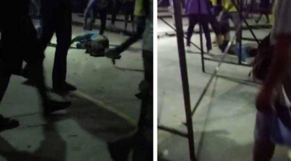 Video: arrojan a jaula con cocodrilos a presunto violador