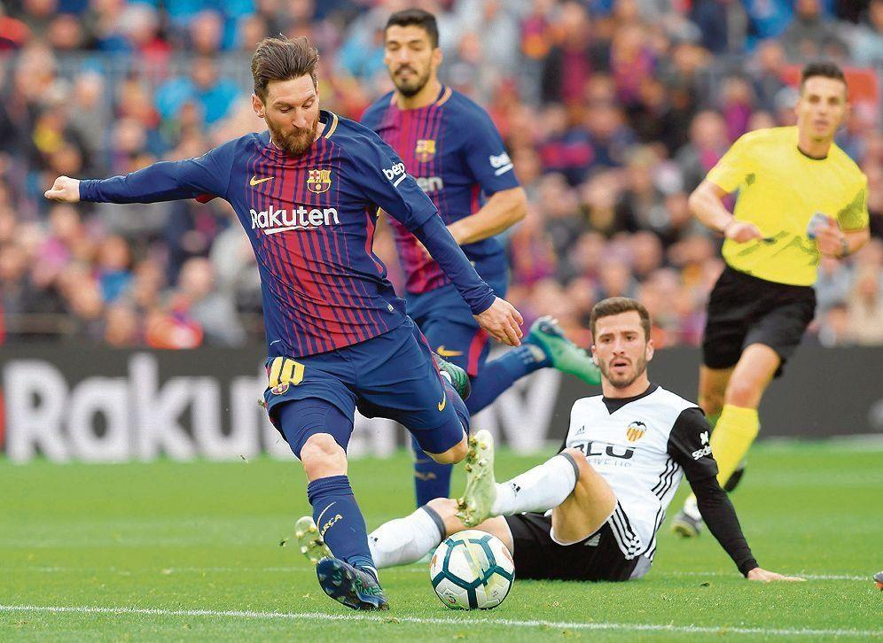 """Valverde: """"Que se queden tranquilos por Messi"""""""
