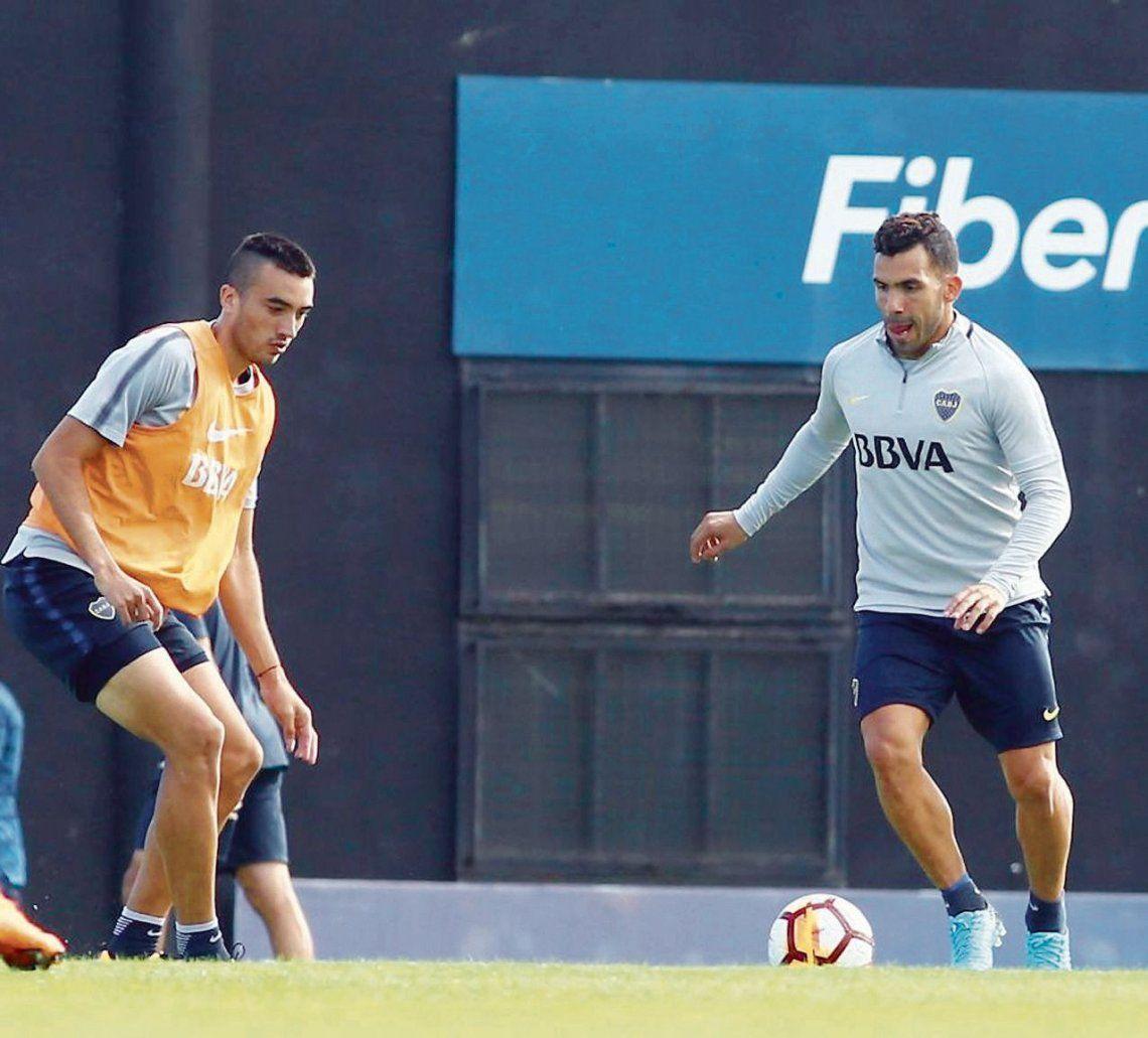 dCarlos Tevez arranca una semana decisiva para su regreso al equipo. Si la rodilla está desinflamada