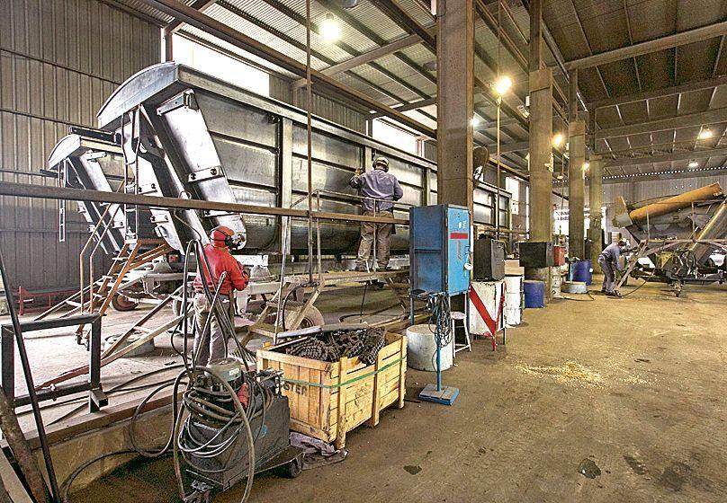 dDatos de la UIA hablan de un crecimiento de la producción.