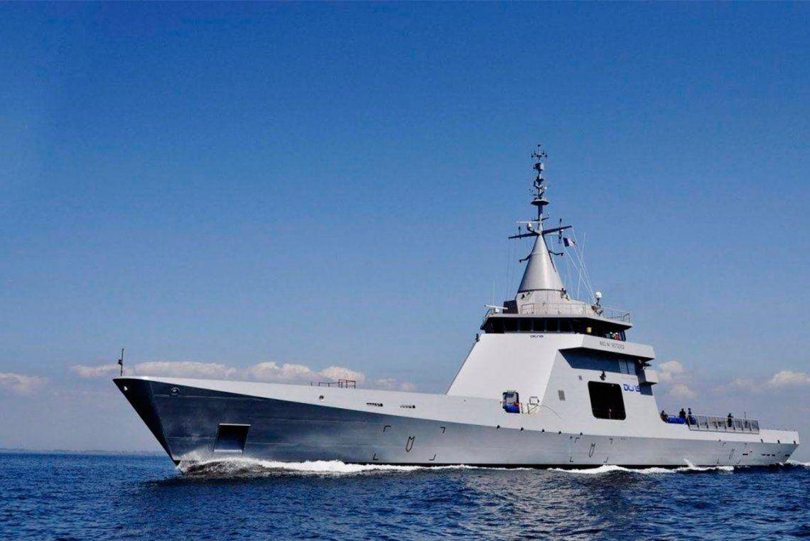 Argentina compraría cuatro buques patrulleros oceánicos a Francia o España