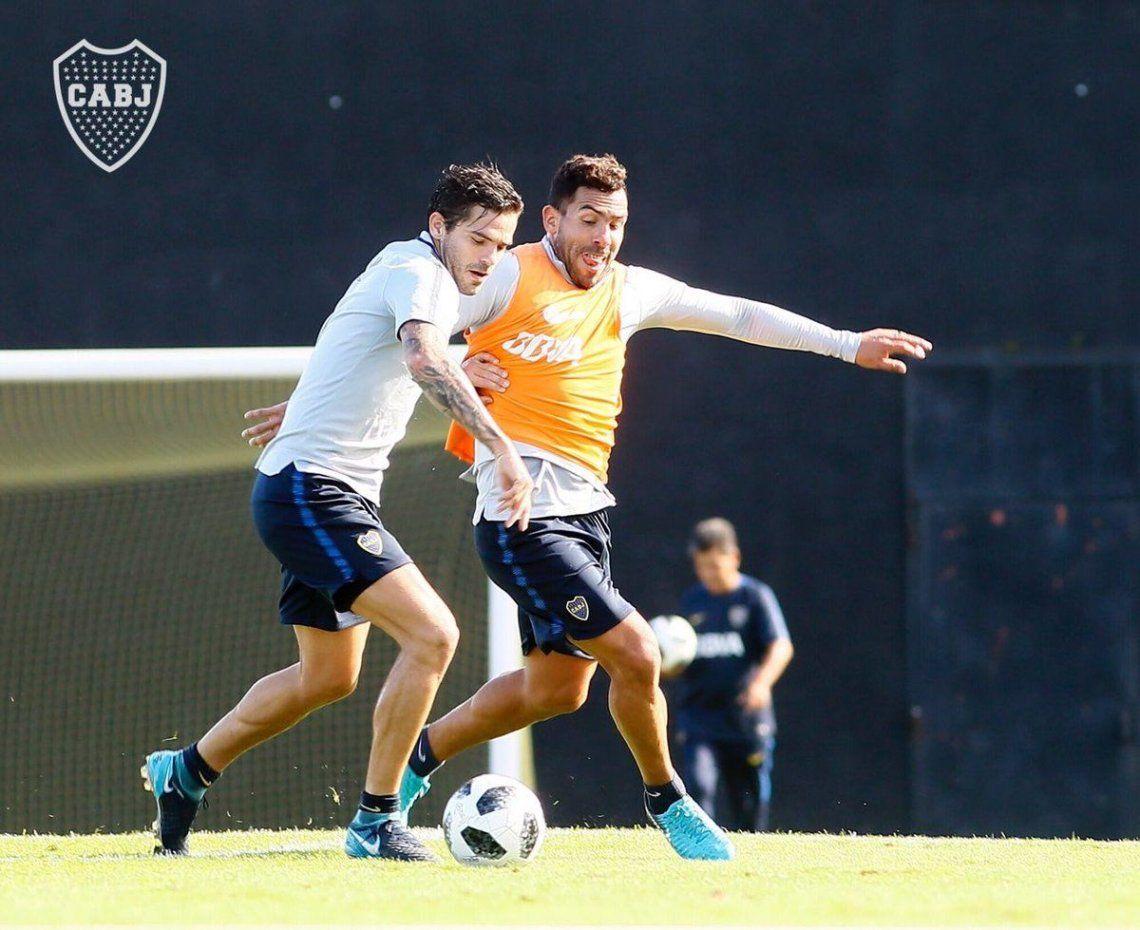 Gago y Tevez preparan sus vueltas - Prensa Boca