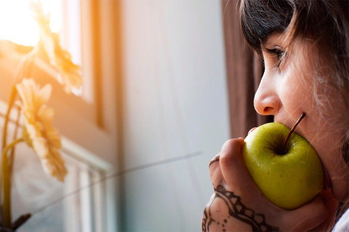 ¿Qué comen los chicos entre horas?