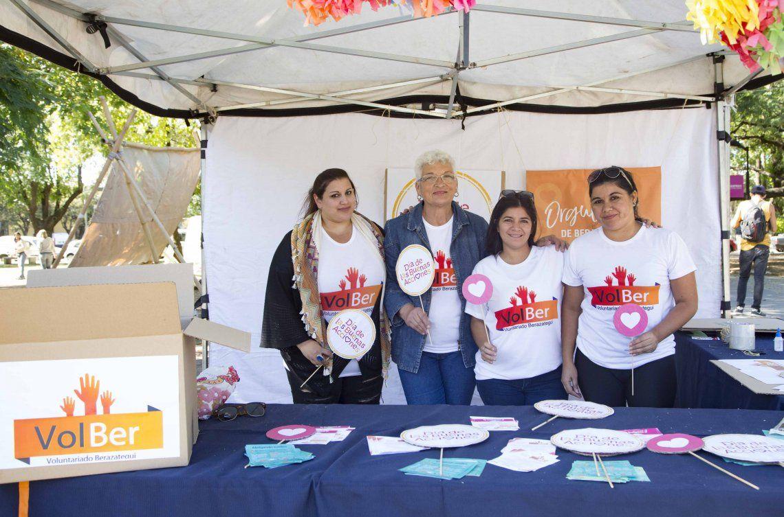 Reunieron alimentos para comedores de Berazategui