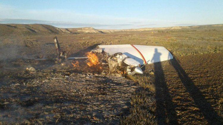 Cayó una avioneta en la Península Valdés: dos muertos