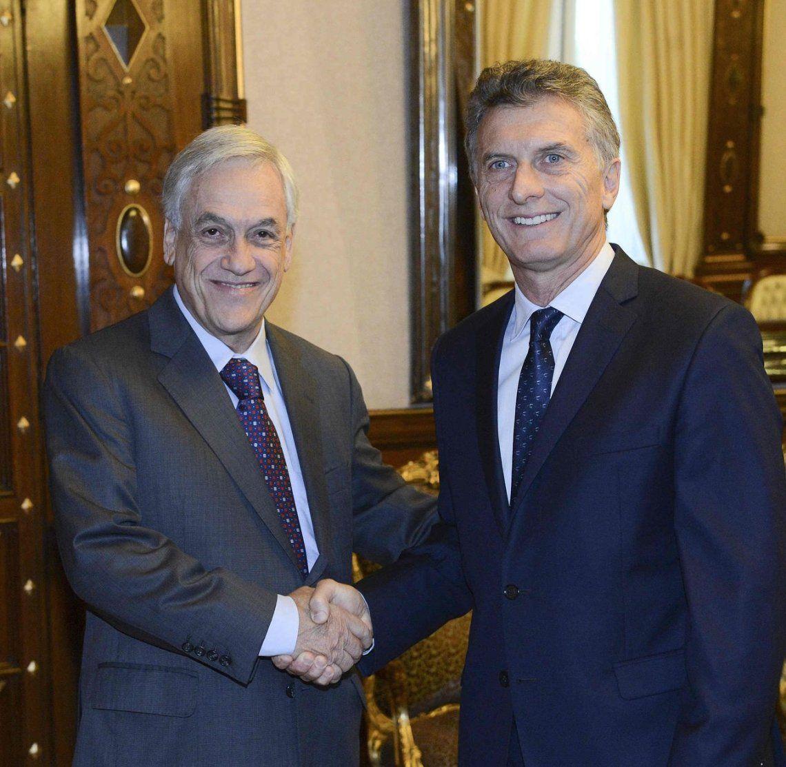 Piñera y Macri tienen una amistad que viene de cuando presidían clubes.