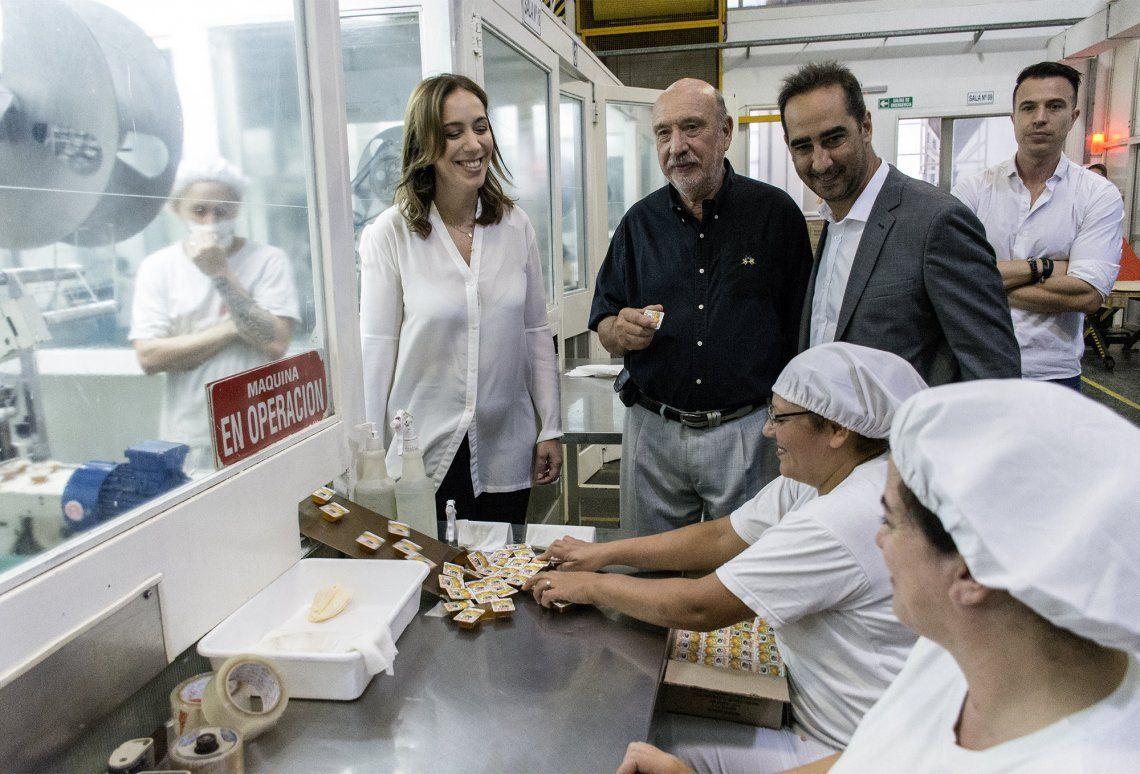Tagliaferro y Vidal recorrieron el Parque Industrial La Cantábrica
