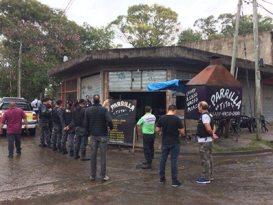Amplio operativo contra el comercio ilegal en Quilmes