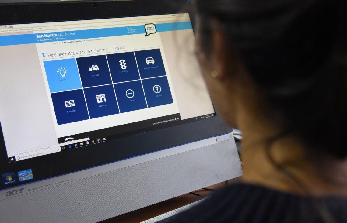 Lanzan aplicación web para agilizar la atención de reclamos vecinales