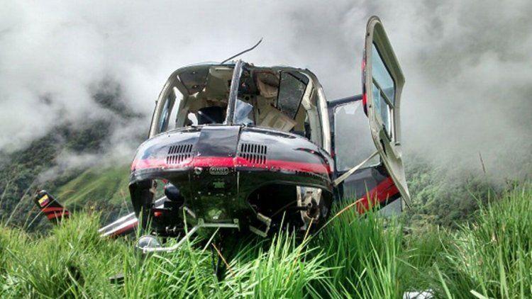 Sobreviviente de un accidente, asesinado por el helicóptero que iba a rescatarlo