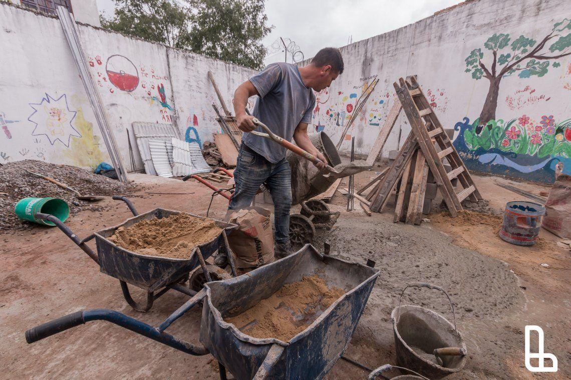 Comienzan obras en La Casita de Monte Chingolo