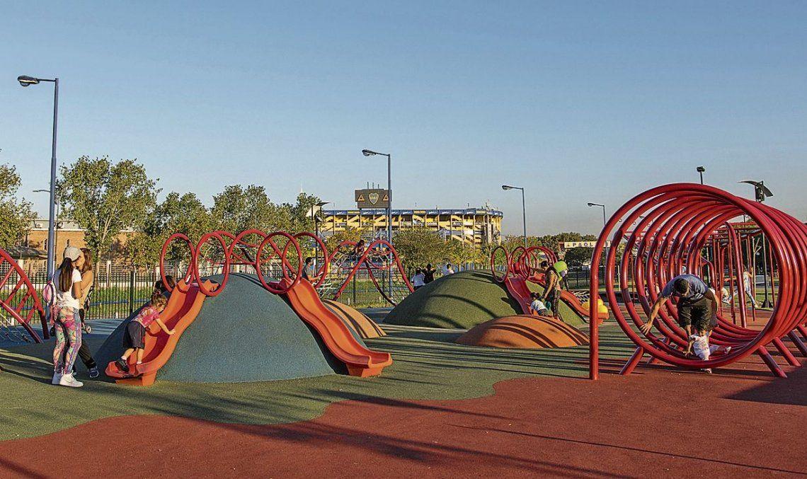 """d""""Cada vez son más los vecinos que practican actividad física y quieren disfrutar de los parques y plazas de la Ciudad"""""""