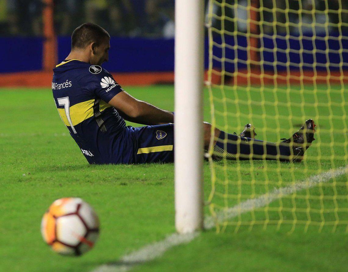 Otro papelón de Conmebol: Wanchope Ábila debe una fecha y Boca lo perderá con Cruzeiro