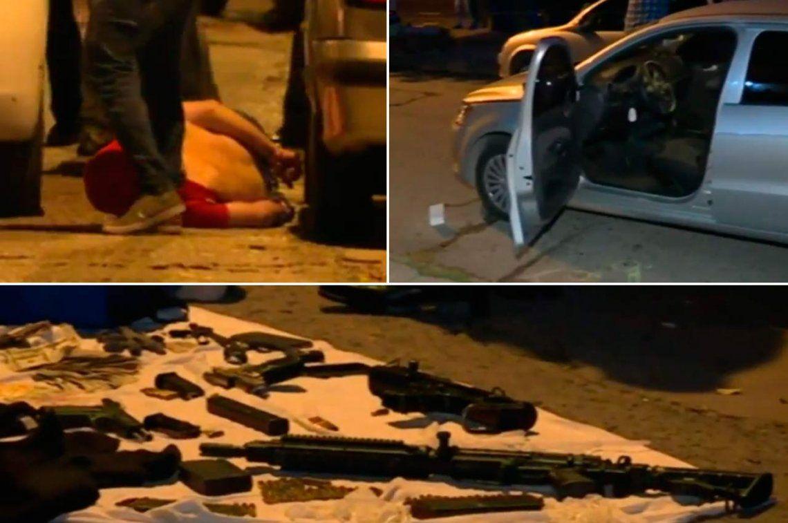 Villa Insuperable: tras feroz tiroteo, capturaron a posible banda de secuestradores