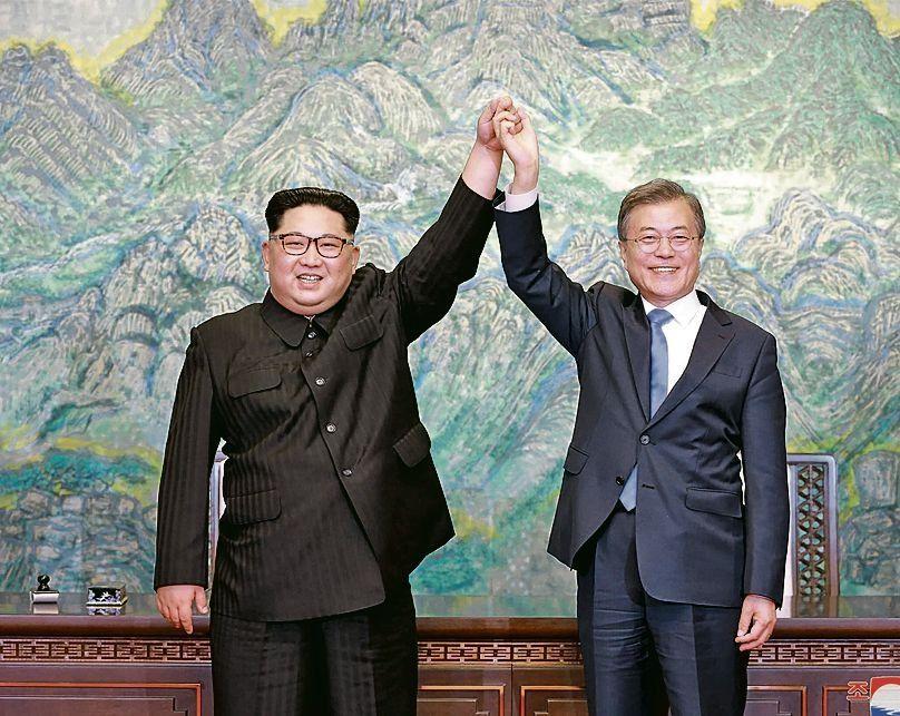 dAhora Corea del Norte promete desmantelar sus instalaciones nucleares.