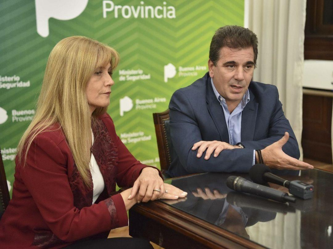 Por la inseguridad en La Matanza, Ritondo recibió a Magario