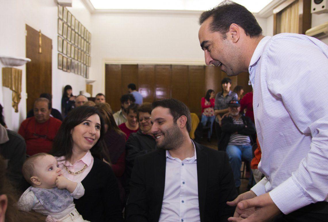 Tagliaferro participó de la entrega de 54 bienes de familia