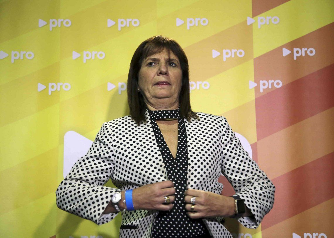 Bullrich y las denuncias por corrupción: Hemos tenido 170 llamados