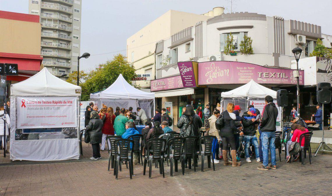 Testeos rápidos de VIH/SIDA en Berazategui