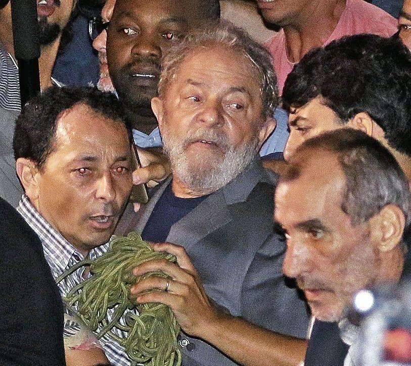 dEl ex presidente Lula