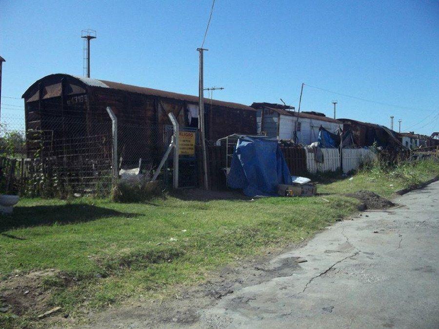 El barrio  Vagón vive de la ayuda de la comunidad