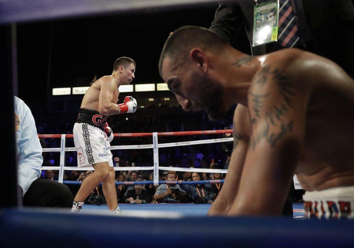 Golovkin le ganó el sábado con facilidad al armenio Martirosyan
