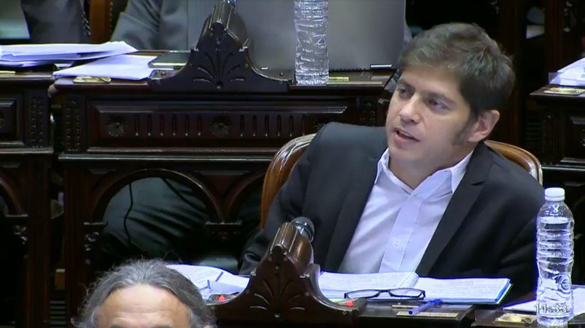 Axel Kicillof: No hay que profundizar este programa económico, hay que cambiarlo