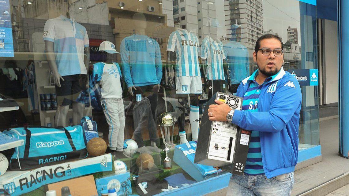 Avellaneda: allanaron sede de Racing por presunto uso de facturas truchas