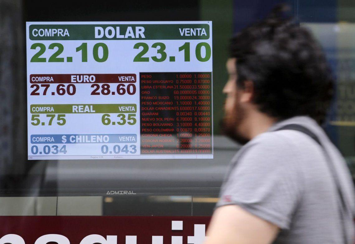 El dólarabrió en baja por primera vez en la semana, pero cerró igual que ayer