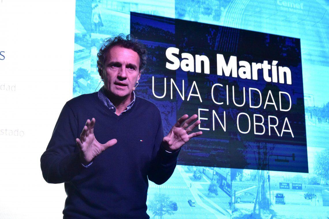 Katopodis presentó San Martín, una ciudad en obra