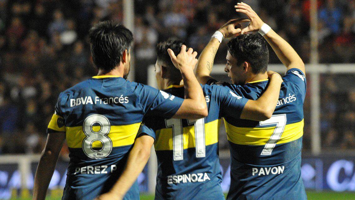 Fecha 6 Patronato 0 Boca 2