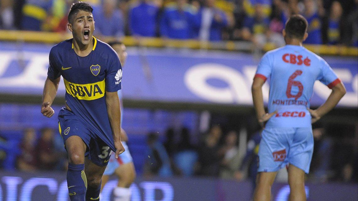 Fecha 11 Boca 2 Arsenal 0