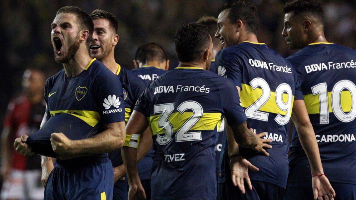 Fecha 13 Boca 2 Colón 0