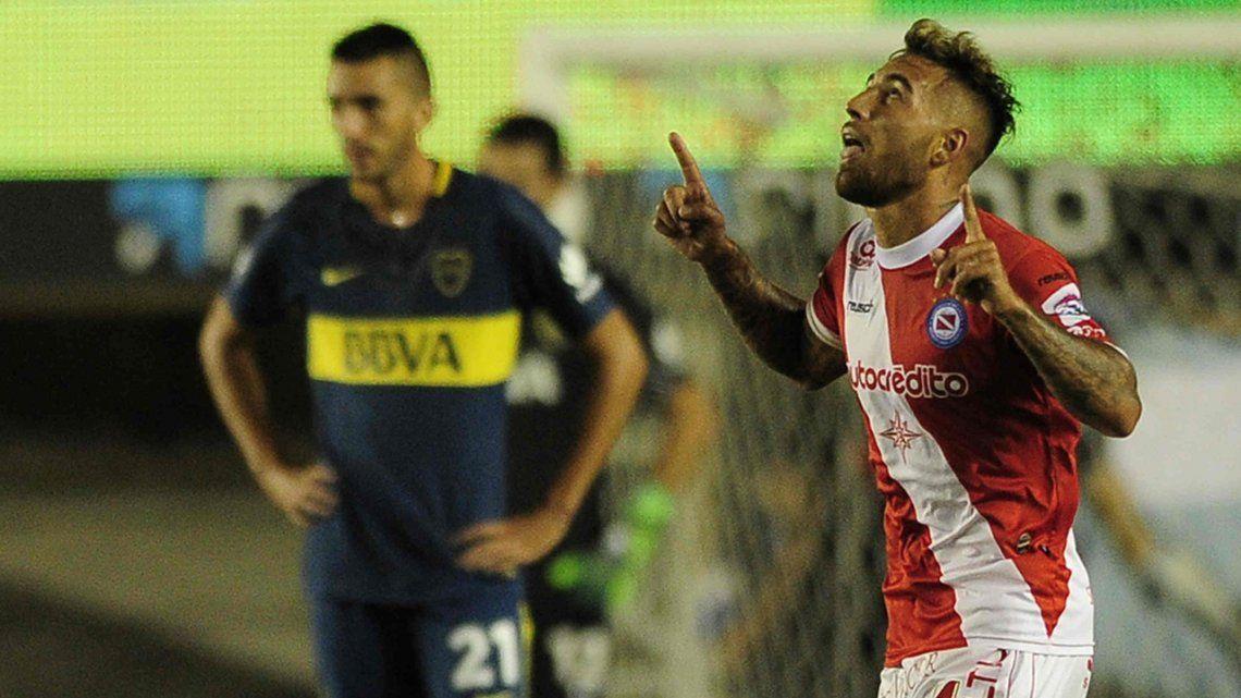 Fecha 18 Argentinos 2 Boca 0