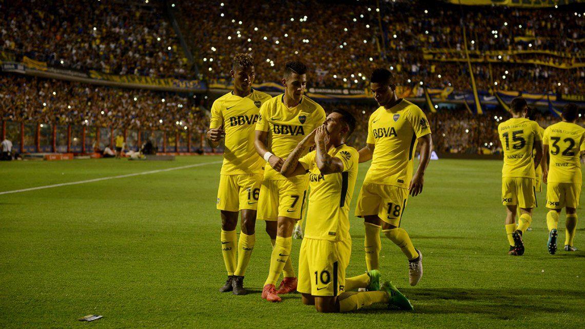 Fecha 19 Boca 2 Tigre 1